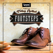 Boom library virtual foley artist footsteps logo icon