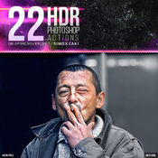 22 hdr photoshop actions v2 10940400 icon