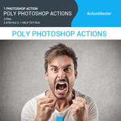Graphicriver poly photoshop actions 11628918 icon