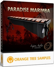 Orange tree samples paradise marimba boxshot icon