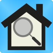 Home scan connected home security scanner icon