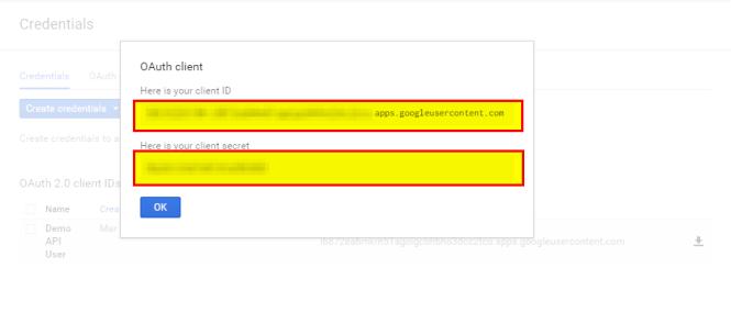 00g Client Secret Created