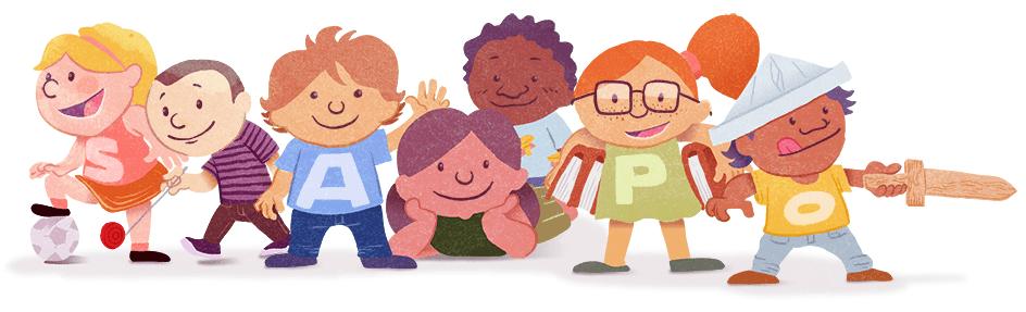 Ilustração para o Dia da Criança - Final