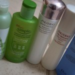 Battle of Toners: For Normal/Combination Skin + Review on Caudalie, Shiseido, Simple, Dior, The Body Shop Toners