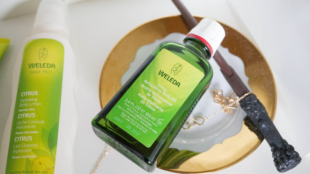 Smelling Fresh in the Shower with Weleda Citrus' Collection!