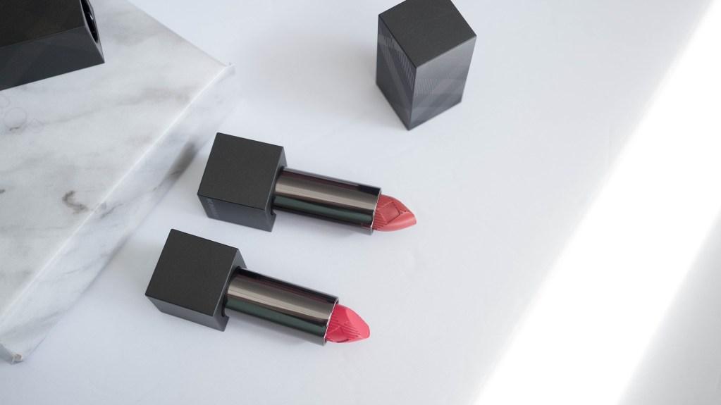 Burberry Lip Velvet Lipstick| Bright Rose & Honeysuckle