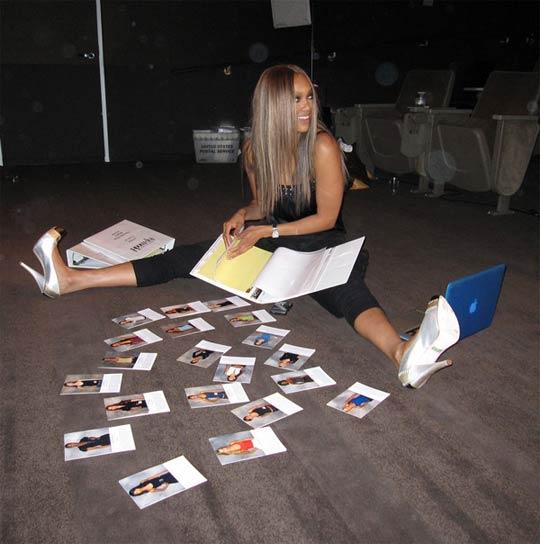 Tyra Banks MacBook