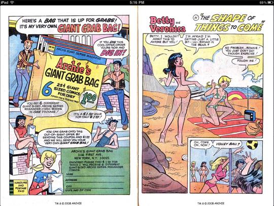 archie comics iPad