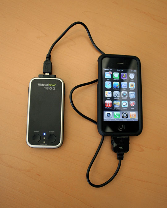 richard solo iPhone charger