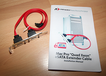 Newer Technology eSATA extender Cable