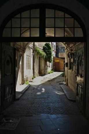 Sibiu: Gasse in der Altstadt
