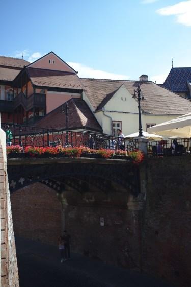 Sibiu Altstadt Lügenbrücke