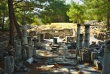 Priene: Byzantinische Basilika