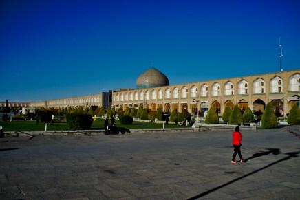 Esfahan: Der Nagsh-e Janan ist einer der größten Plätze weltweit