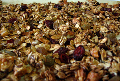 Basic Homemade Granola