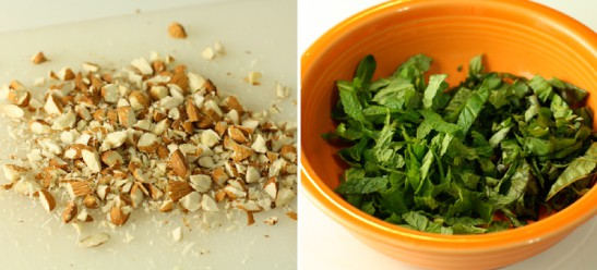 Fun additions: More almonds, mint, parsley.