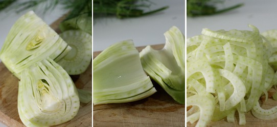 Deconstructing the fennel.