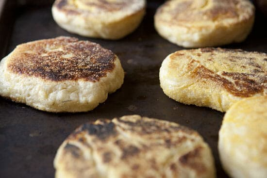 Rustic and delicious Homemade English Muffins from Macheesmo