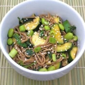 Two Peas and Their Pod: Soba Noodles with Veggies