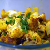 Sassy Radish: Roasted Cauliflower with Indian Spices