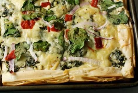 Spanakopizza