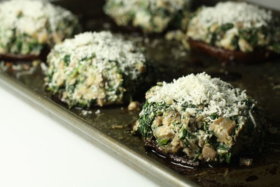 portobellos stuffed