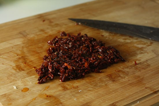 chopped sun-dried tomatoes