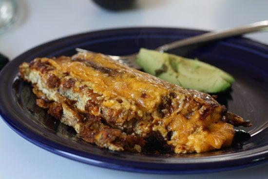 finished enchilada