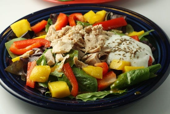 Mango and Tuna Curry Salad