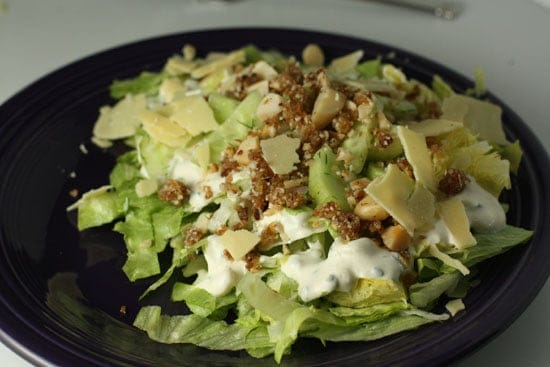 Dubliner Salad with Dates and Nuts