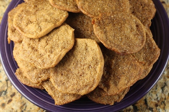 Double Ginger Snaps
