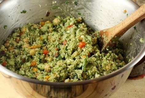 Pesto Quinoa Salad