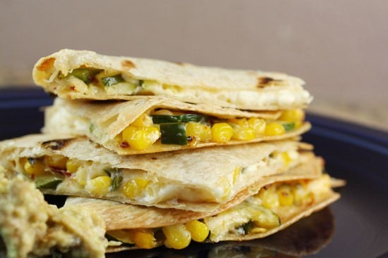 Sweet Corn Quesadilla