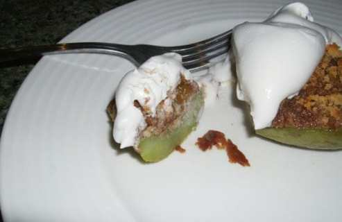Pudding-Stuffed Chayote