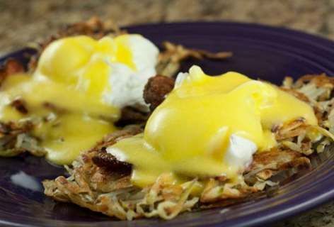 Hash Brown Benedicts