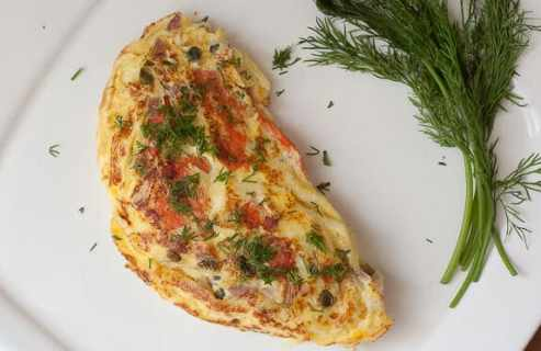 Lox Omelet from Macheesmo