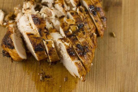 sliced - Baja Chicken Wraps
