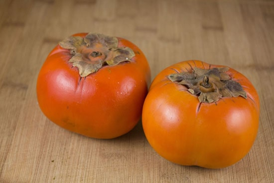 persimmons for Persimmon Risotto