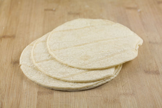 corn tortillas for Tex Mex Egg Cups
