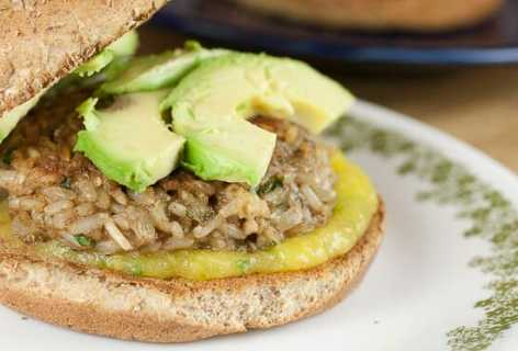 Brown Rice Burgers