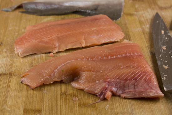 salmon for Salmon Tacos
