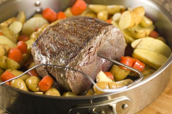 starting roast
