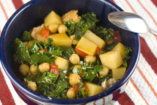 Thirty Minute Chickpea Stew recipe