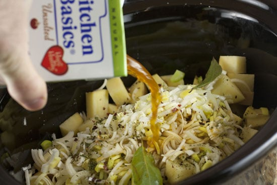 stock for Crockpot Potato Soup
