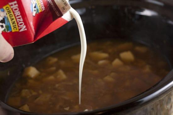 creamy Crockpot Potato Soup