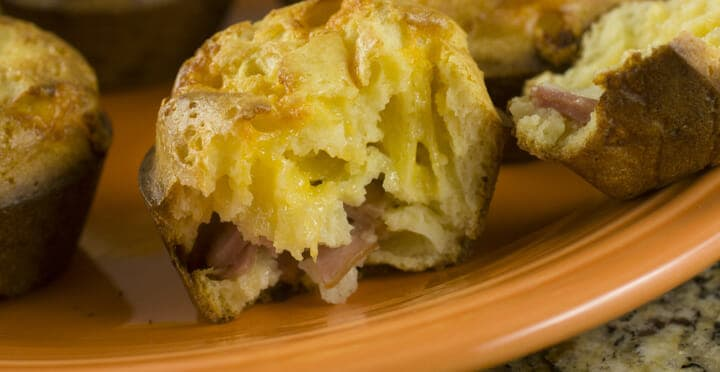 Ham and Cheese Popovers
