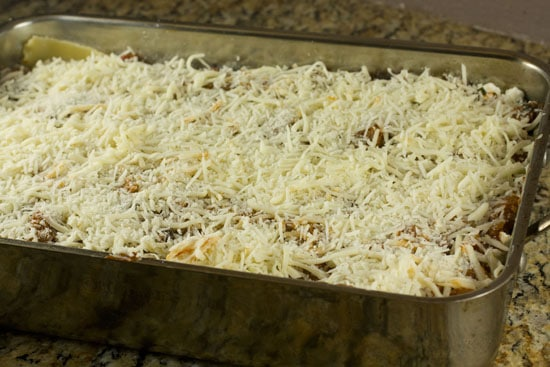 how to freeze lasagna - Baking lasagna