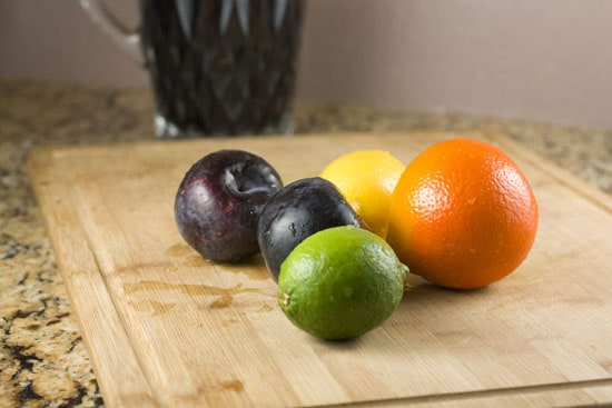 fruit for Spicy Sangria