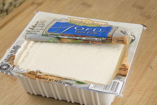 tofu for Mango Soba