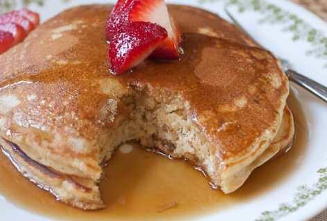 Brown Banana Pancakes